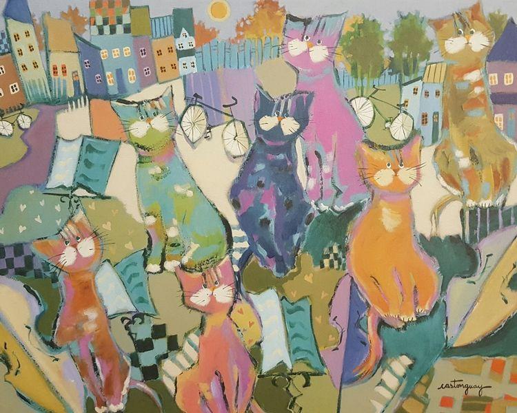 Les chats mélomanes