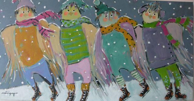 Les oiseaux patineurs