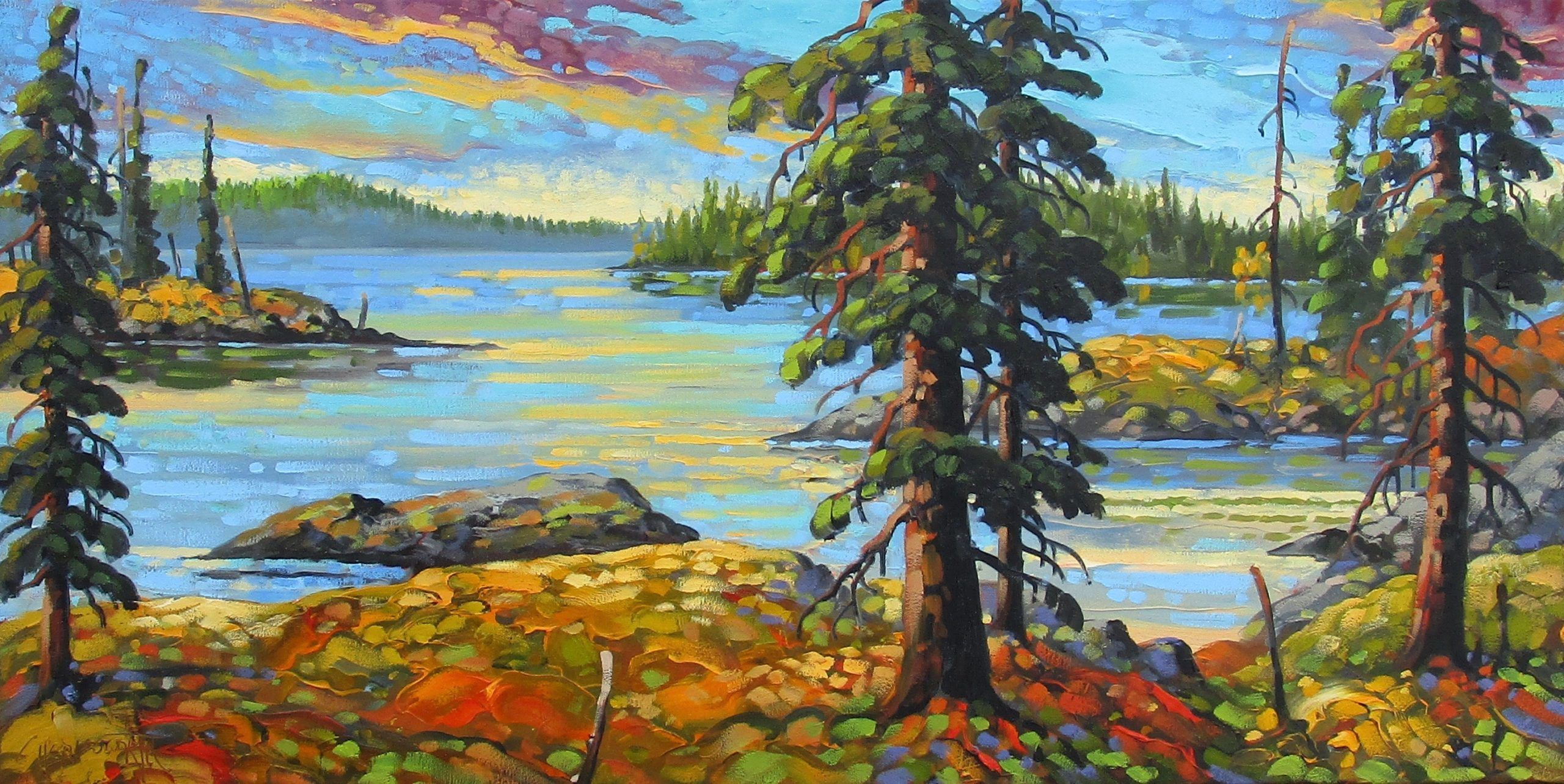 July Colours, NWT