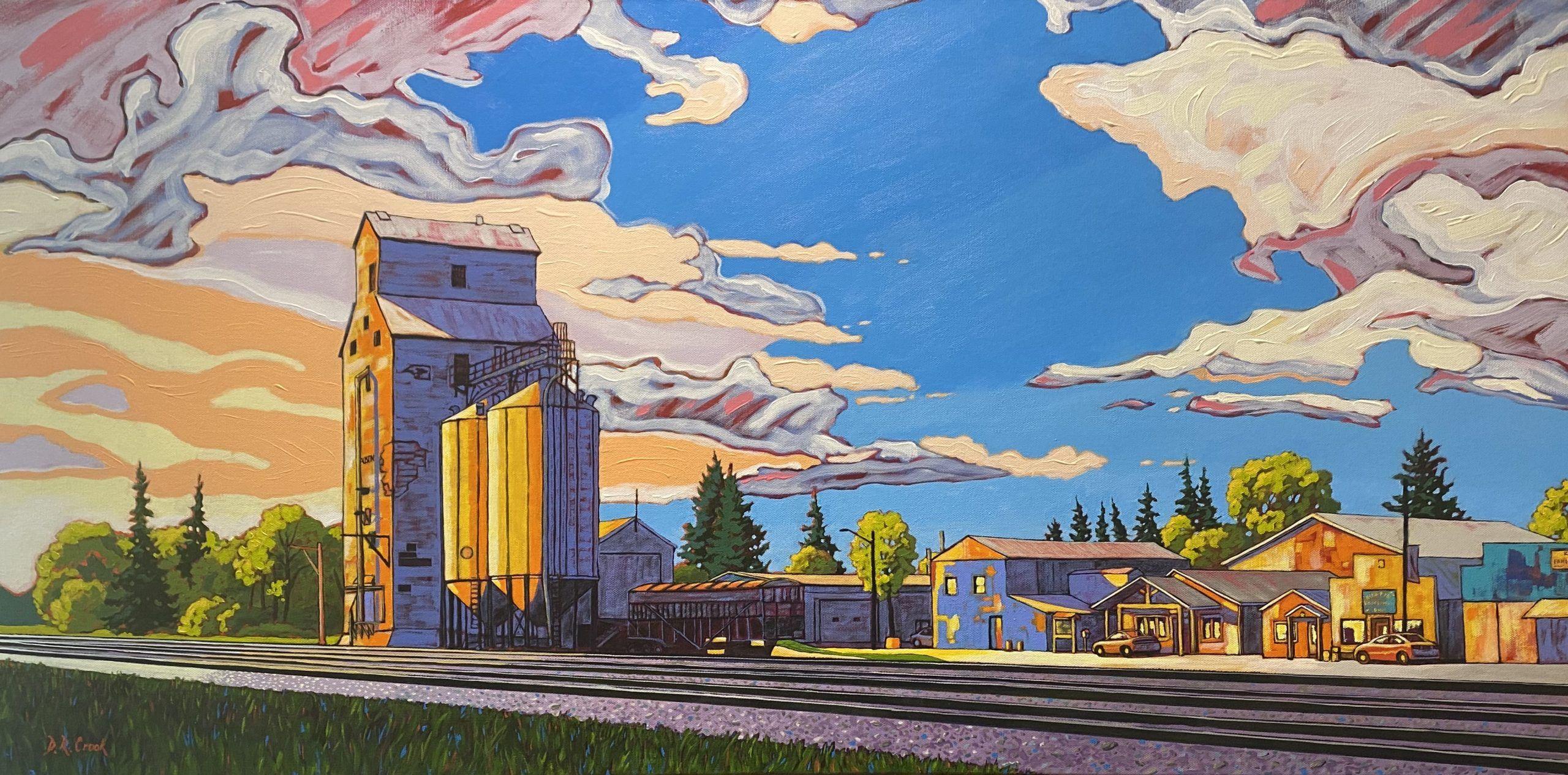 Prairie Sunrise - Austin, Manitoba