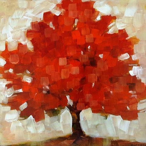 Little Crimson Tree