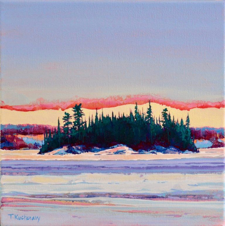 Winter's View 2, Falcon Trails