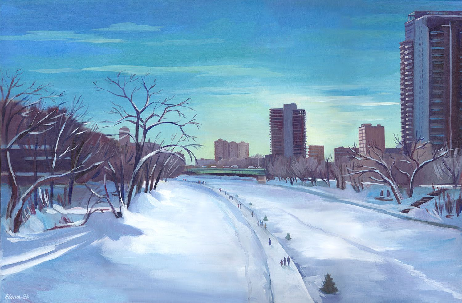 Winter River (Assiniboine River)