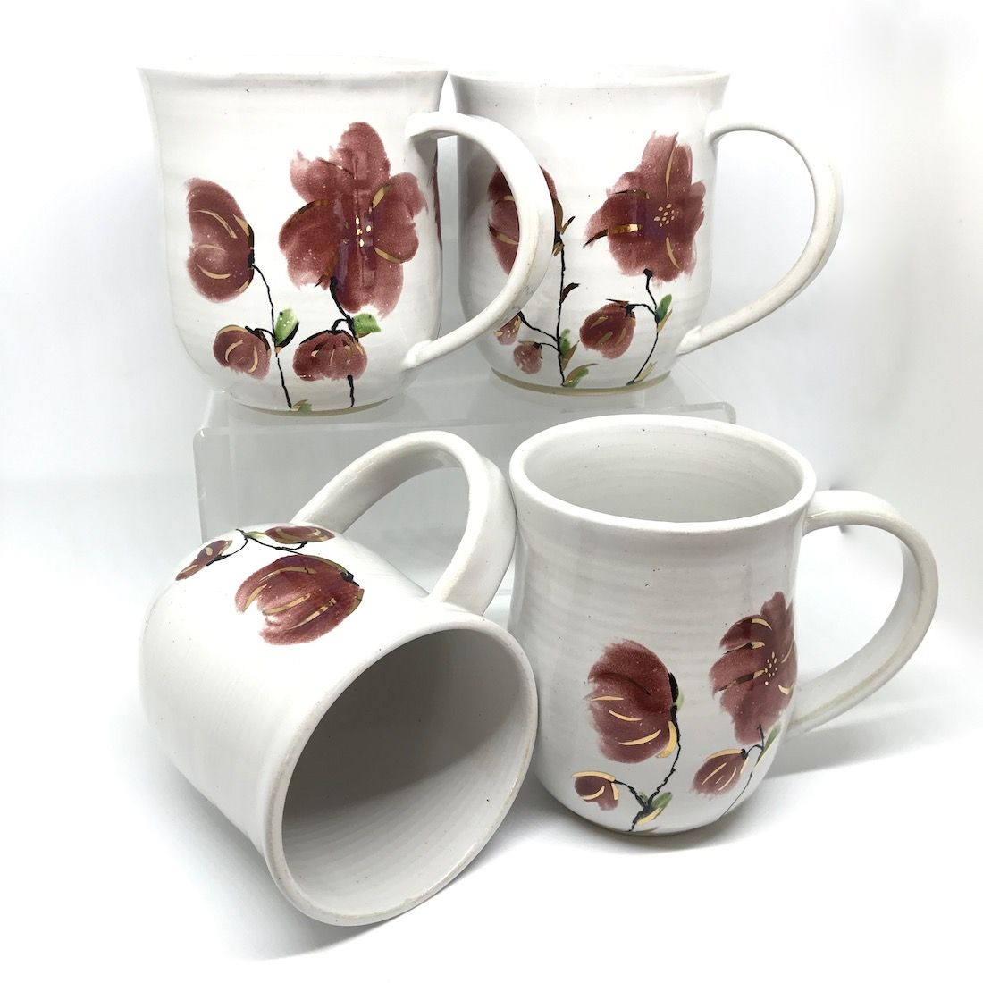 Floral & Gold Mug