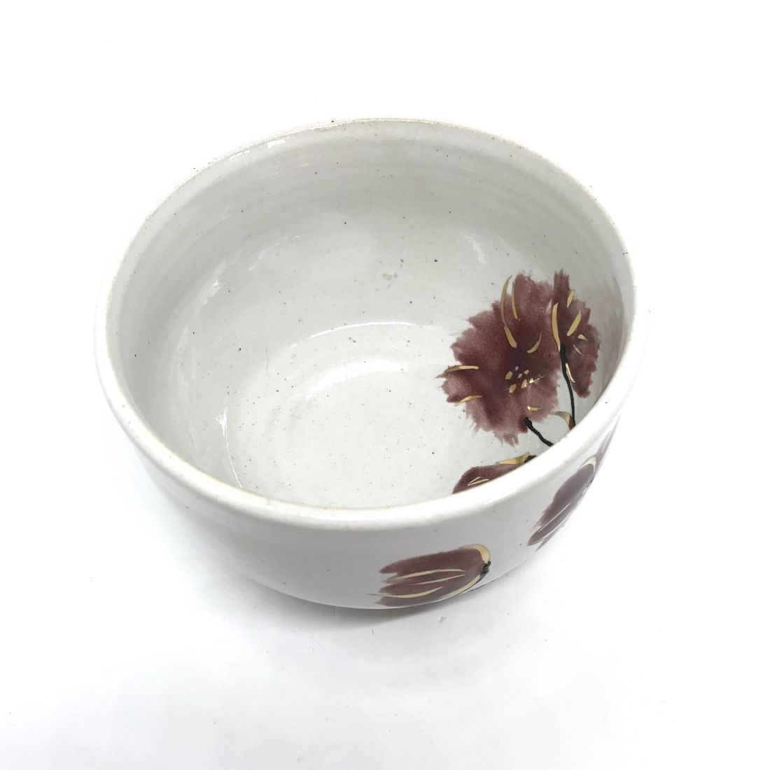 Small Floral & Gold Bowl