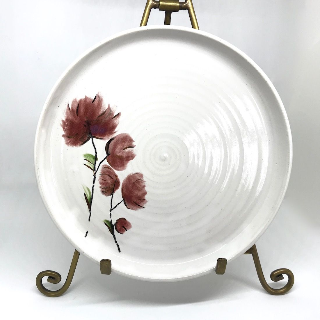 Small Floral & Gold Plate