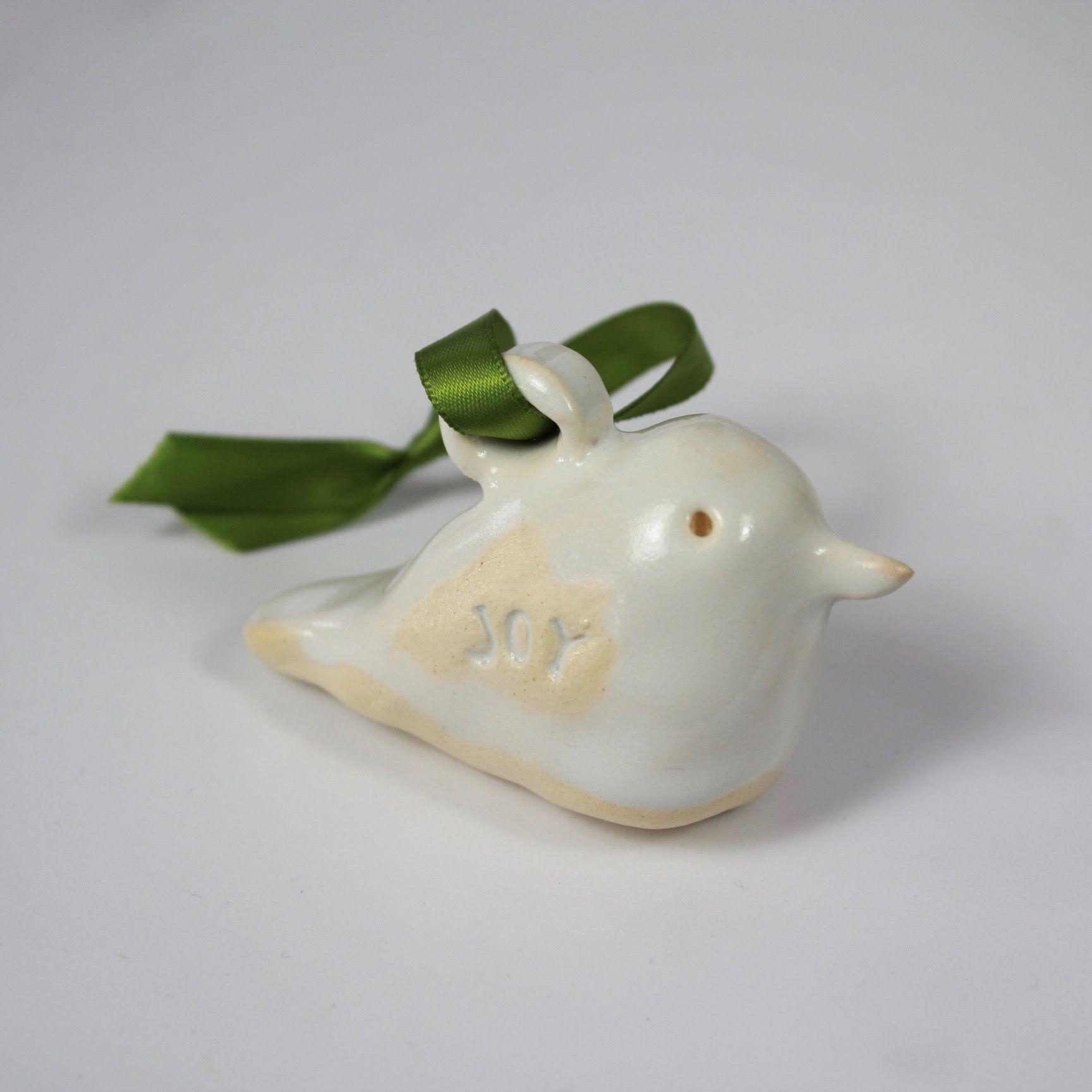 'Joy' Bird Ornament