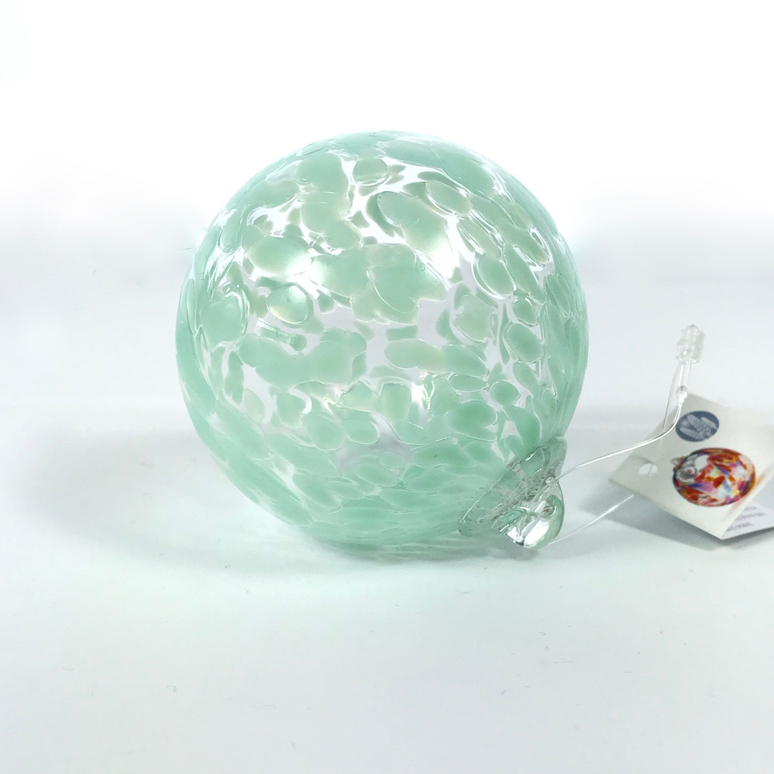 Sea Green/Clear Friendship Ball