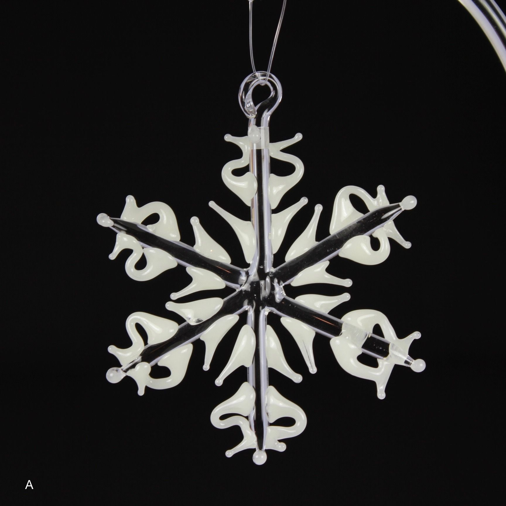 Glow-in-the-Dark Snowflake Ornament