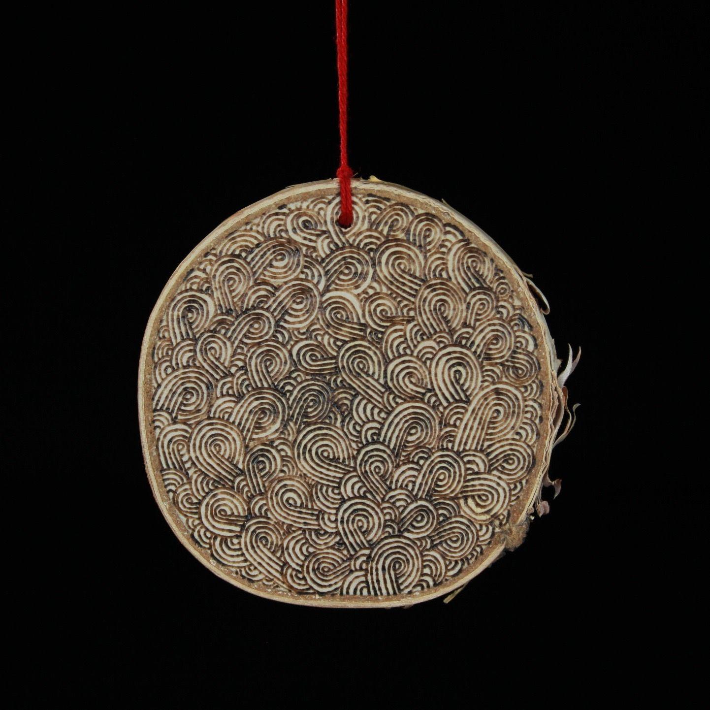 Swirly Ornament