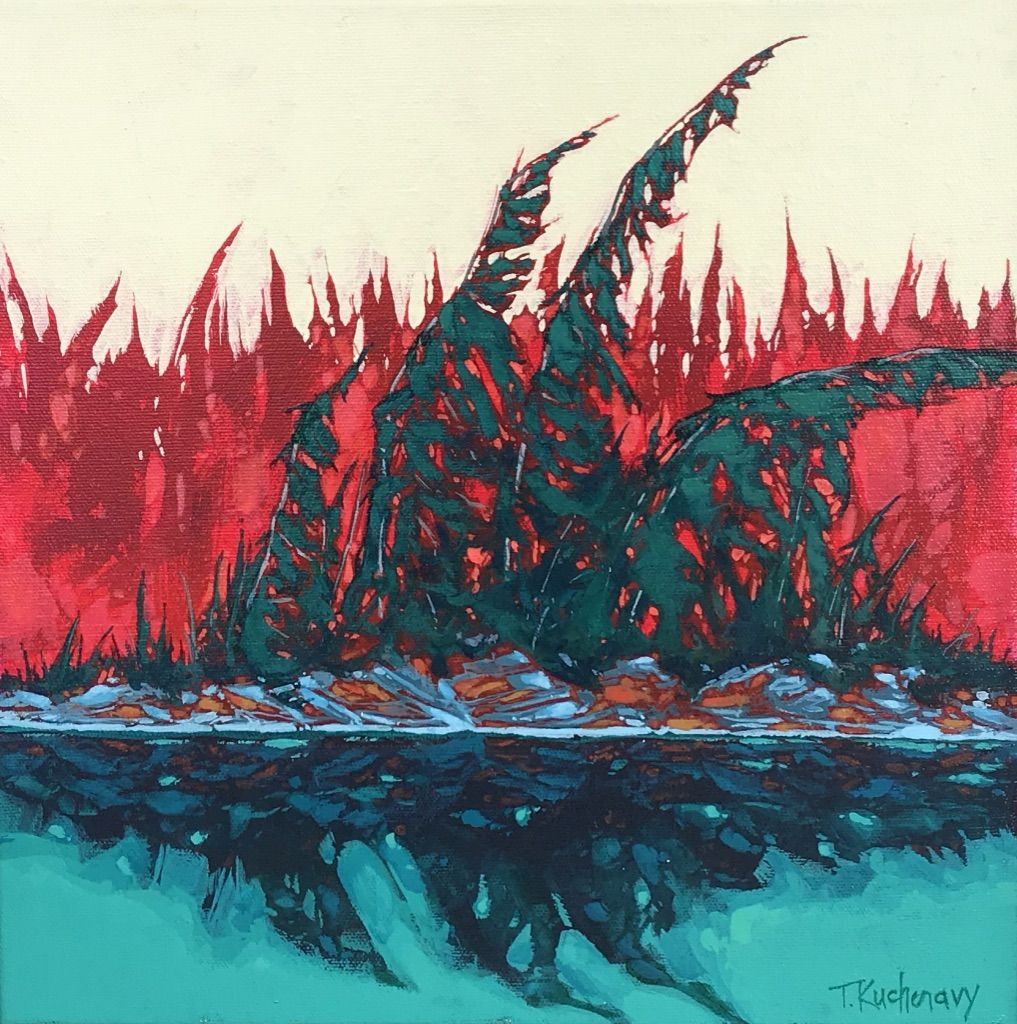 Playing With Colors, Shoal Lake, Study 1