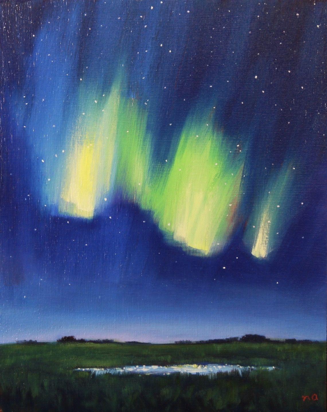 Illuminated Marsh