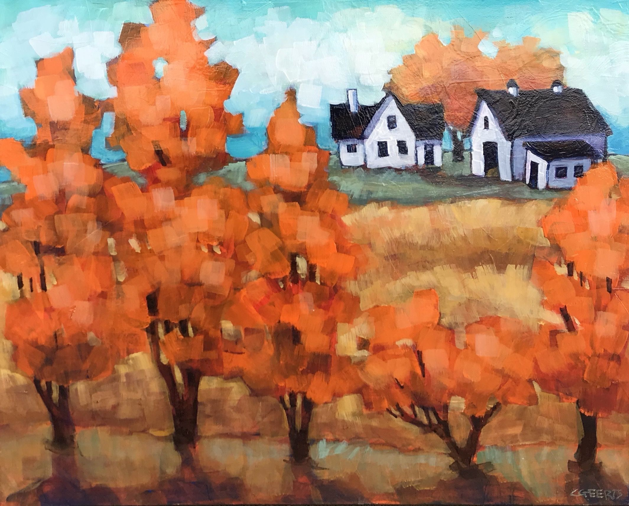 Through Autumn Trees