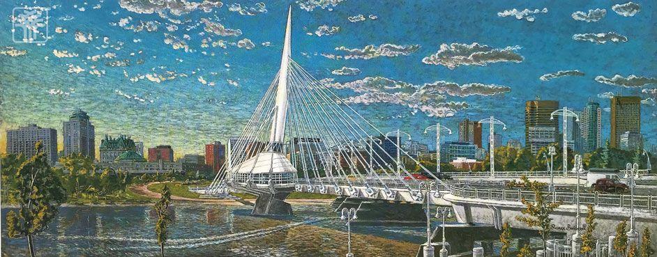 Sunset on the Bridge II