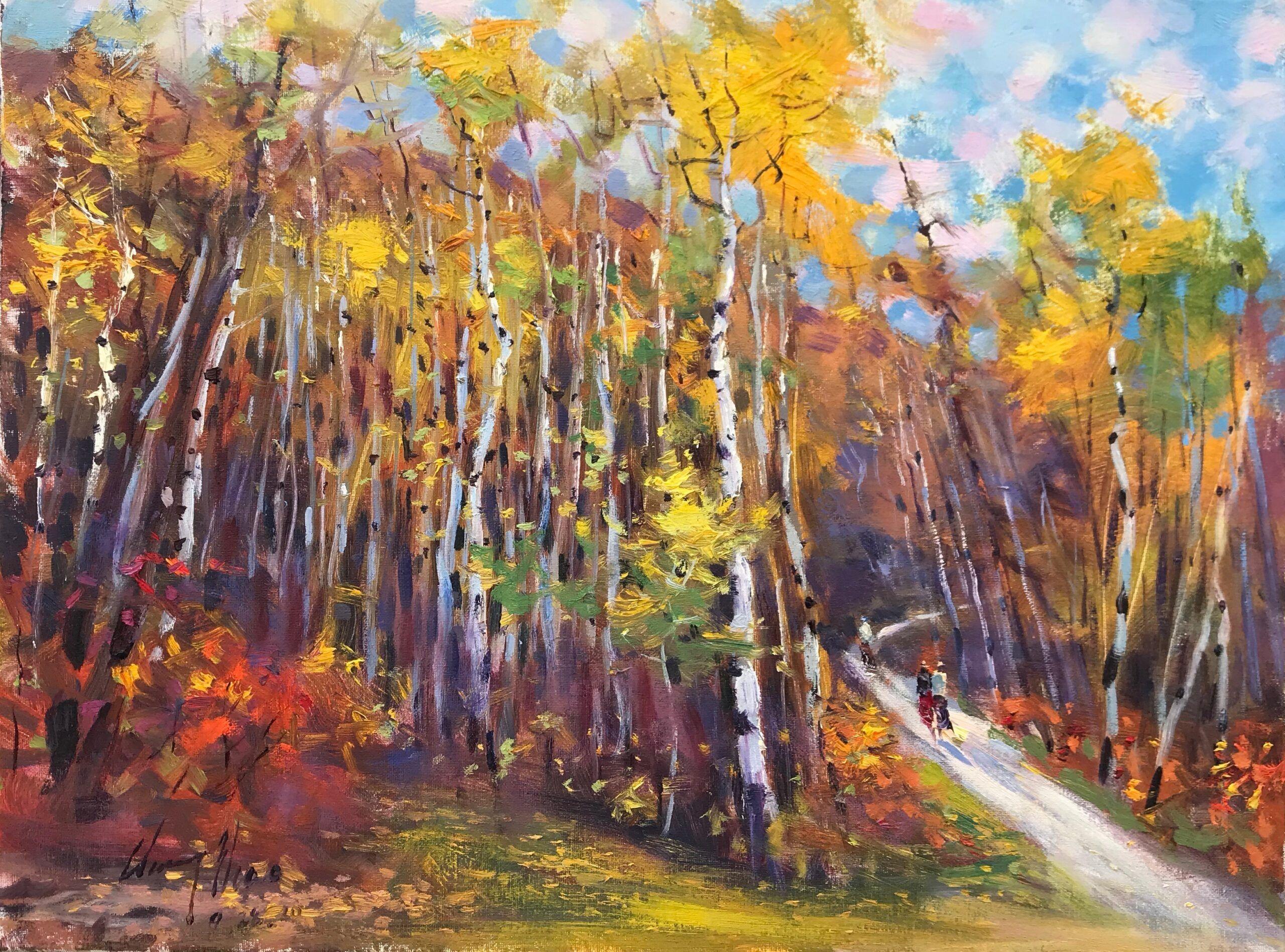 Aspen Wood in Big Valley